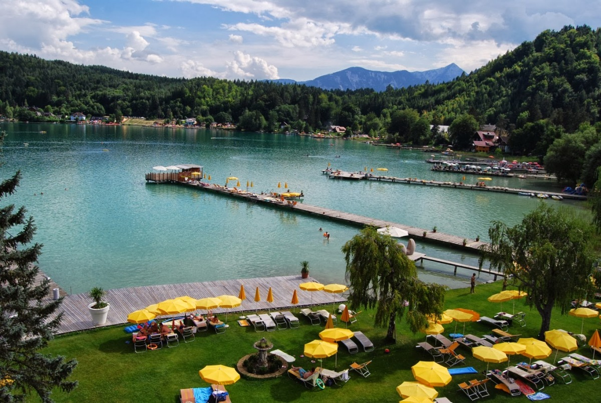 Австрия, поездка по озерам