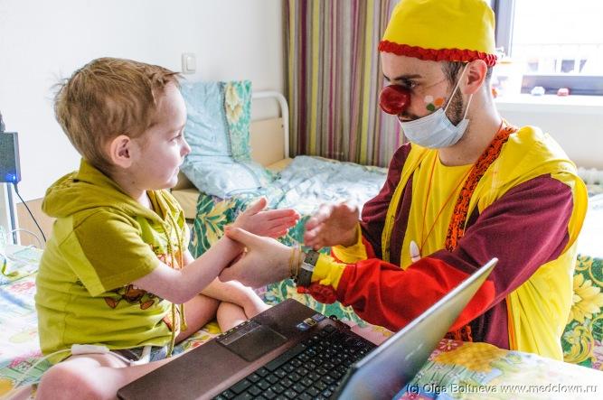 """Фото предоставлено АНО """"Больничные Клоуны"""""""