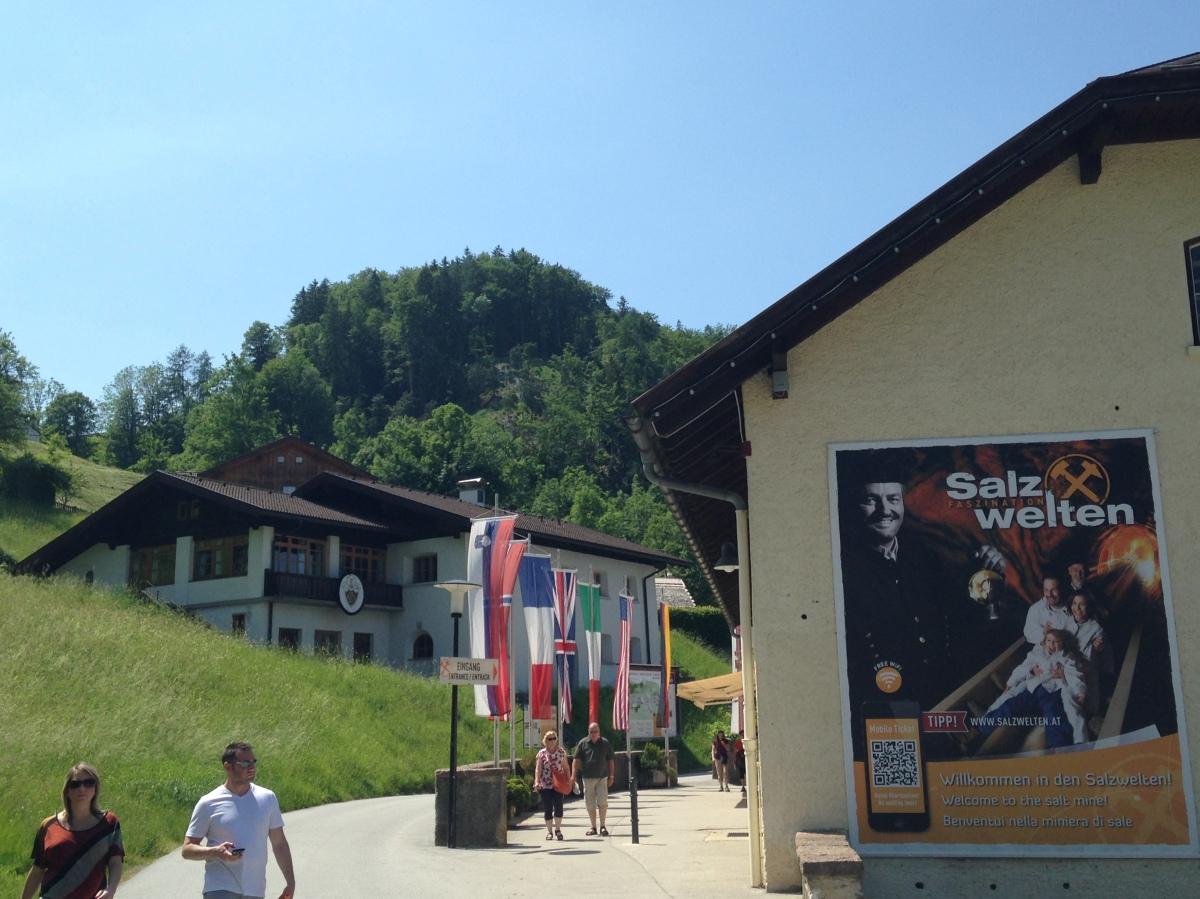 Окрестности Зальцбурга: соляная пещера Hallein